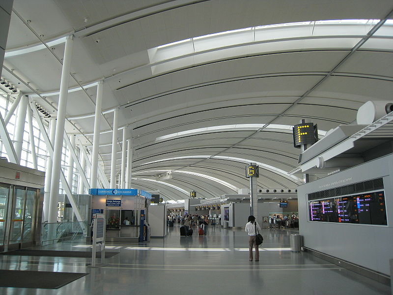Pearson International Terminal 1 Check-in Hall